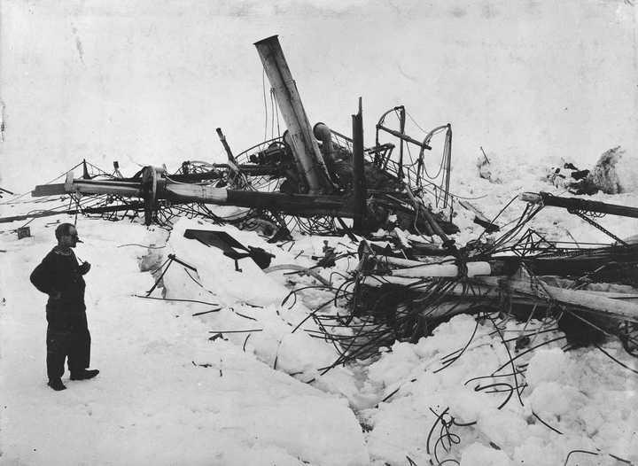 «Эндьюранс», или История выживания 28 человек среди льдов Антарктики (43)