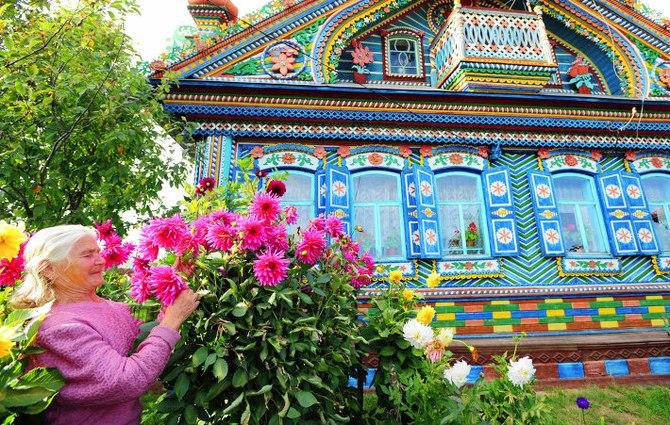 Удивительный дом русского кузнеца (2)