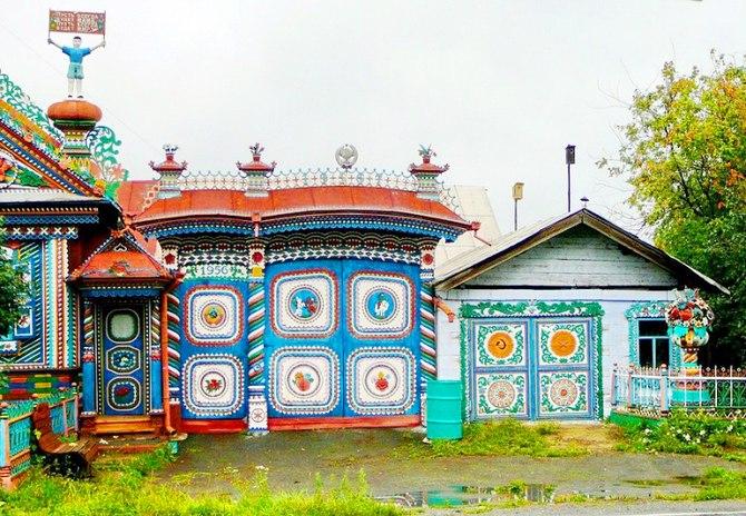 Удивительный дом русского кузнеца (7)
