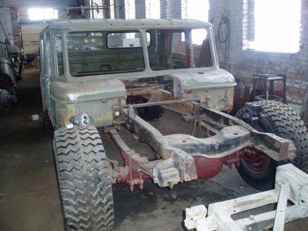 Hammer H1 на основе Газ-66 (1)