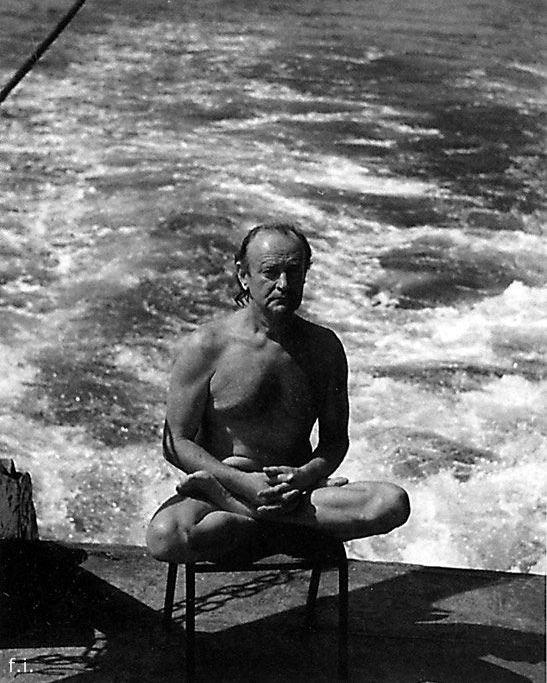 Станислав Курилов. Фото из книги «Один в океане»