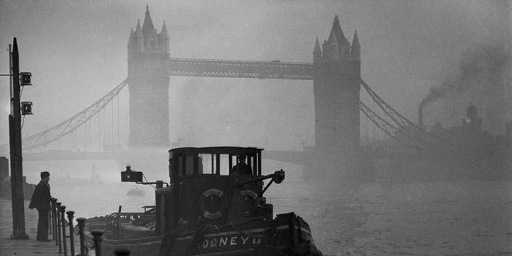 Туман, спустившийся на Лондон 5 декабря 1952, года убил 12 000 человек (1)