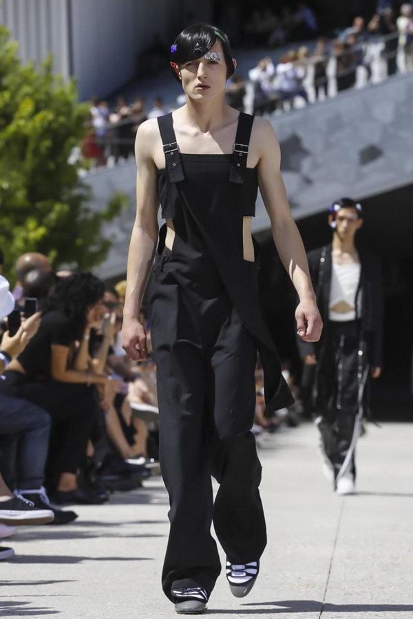 Мужская мода из Парижа или модельеры продолжают глумиться (12)