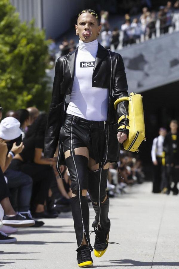 Мужская мода из Парижа или модельеры продолжают глумиться (14)