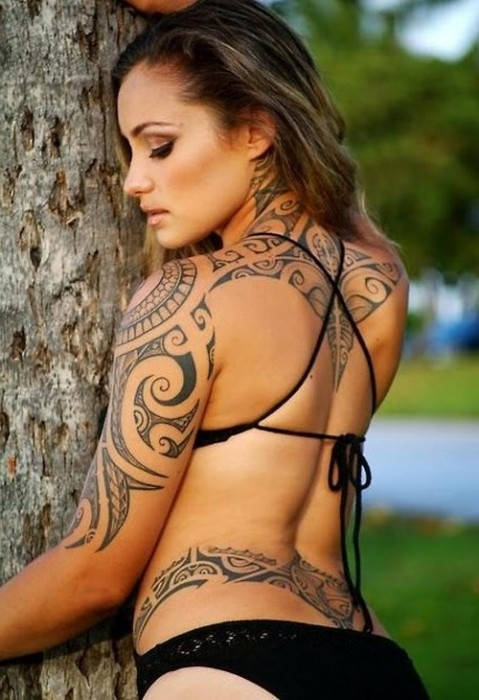 Полинезия — родина тату (2)
