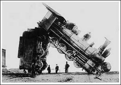 Взрыв паровозного котла (2)