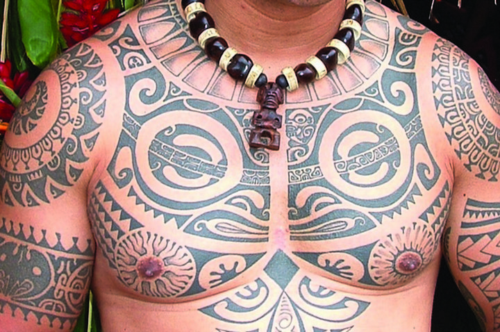 Полинезия — родина тату (3)