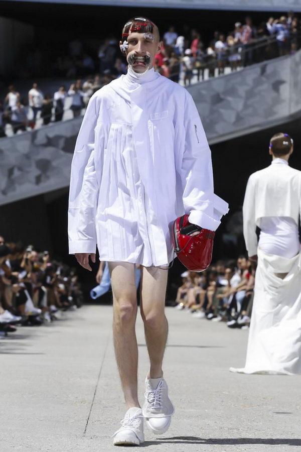 Мужская мода из Парижа или модельеры продолжают глумиться (4)