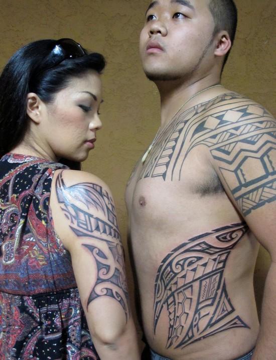 Полинезия — родина тату (4)