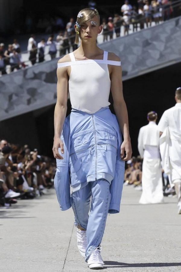 Мужская мода из Парижа или модельеры продолжают глумиться (5)