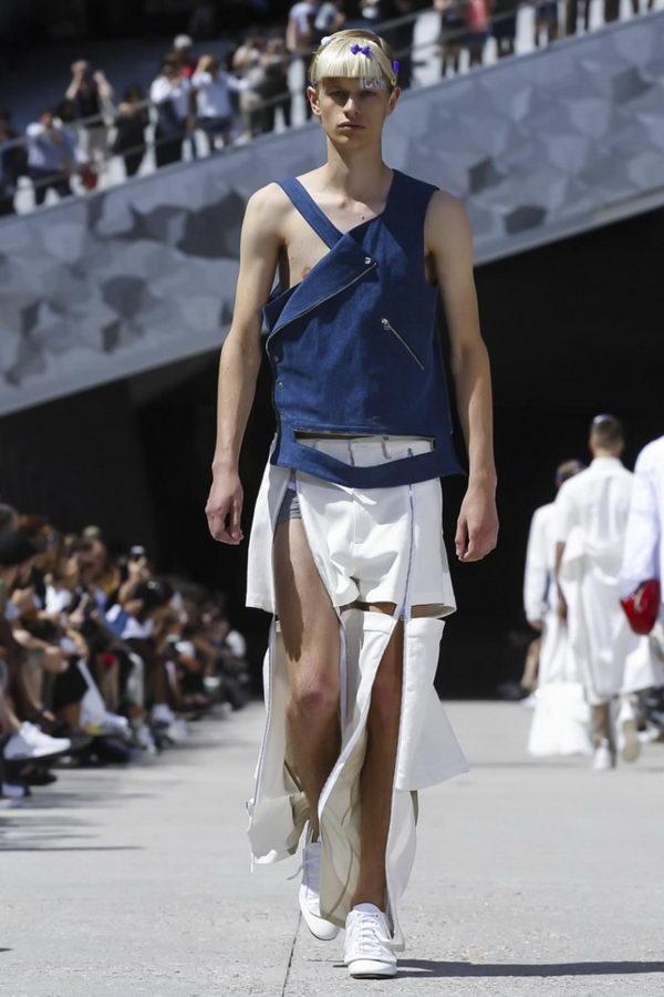 Мужская мода из Парижа или модельеры продолжают глумиться (6)