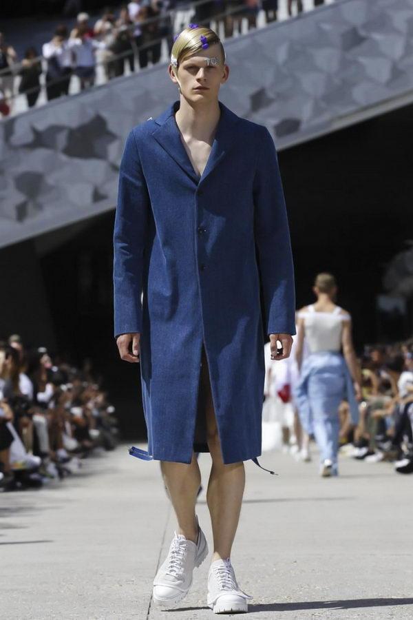 Мужская мода из Парижа или модельеры продолжают глумиться (7)