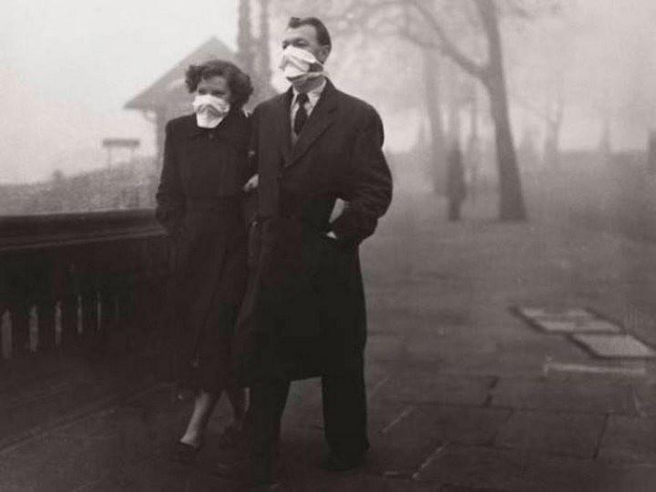 Туман, спустившийся на Лондон 5 декабря 1952, года убил 12 000 человек (7)