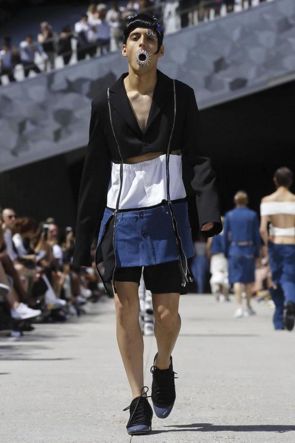 Мужская мода из Парижа или модельеры продолжают глумиться (9)