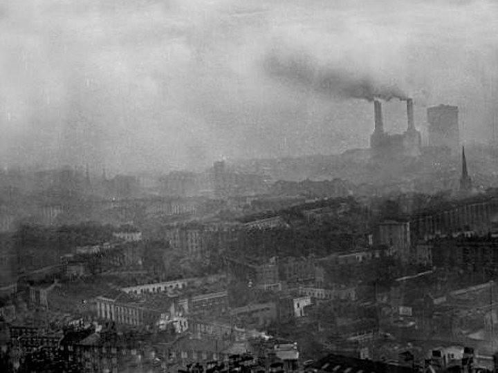 Туман, спустившийся на Лондон 5 декабря 1952, года убил 12 000 человек (8)