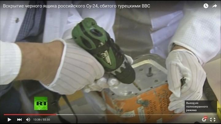 Вскрытие чёрного ящика с самолёта СУ-24М. Cтыдно за отечественную электронику! Опозорились на весь мир (5)