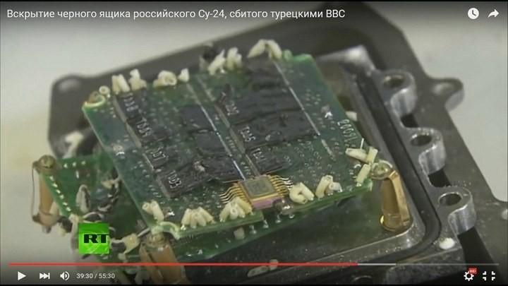 Вскрытие чёрного ящика с самолёта СУ-24М. Cтыдно за отечественную электронику! Опозорились на весь мир (9)