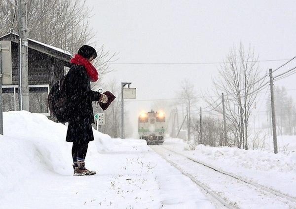 В Японии железнодорожная ветка работает ради одной школьницы