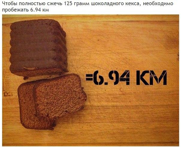 Сколько километров нужно пробежать, чтобы полностью «сжечь» полученные каллории (10)