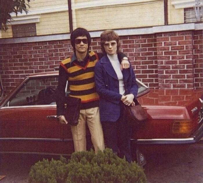 Семейные фотографии из архива Брюса Ли (16)