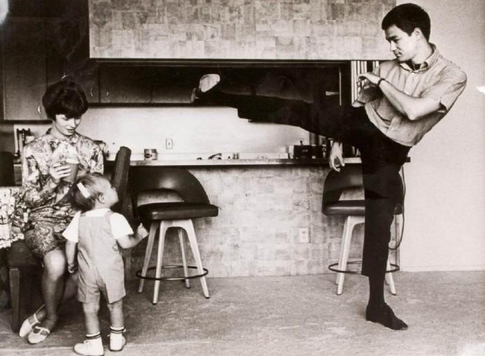 Семейные фотографии из архива Брюса Ли (12)