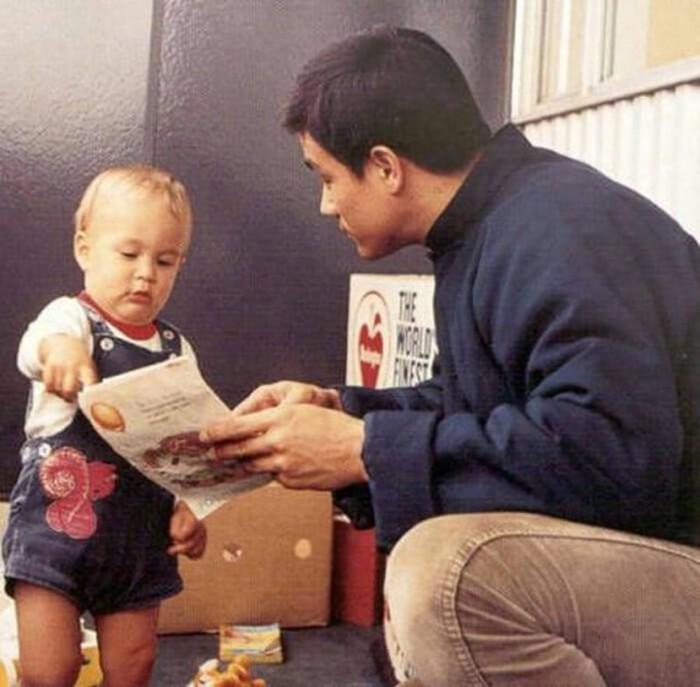 Семейные фотографии из архива Брюса Ли (7)