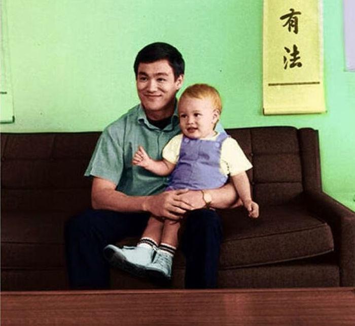 Семейные фотографии из архива Брюса Ли (5)