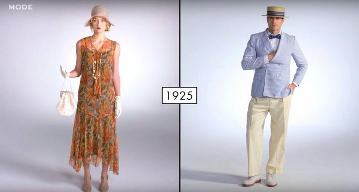 Как менялась мода в течении последних 100 лет (2)