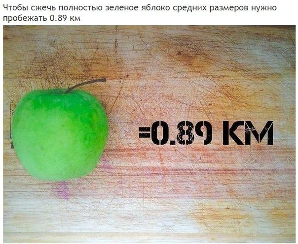 Сколько километров нужно пробежать, чтобы полностью «сжечь» полученные каллории (2)