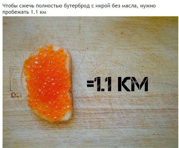 Сколько километров нужно пробежать, чтобы полностью «сжечь» полученные каллории (3)