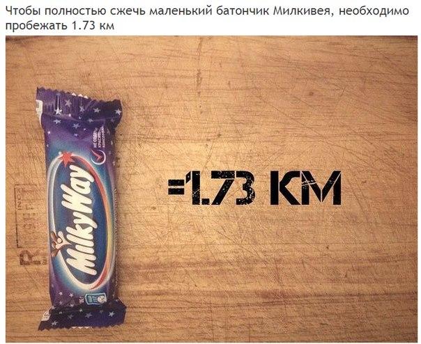 Сколько километров нужно пробежать, чтобы полностью «сжечь» полученные каллории (5)