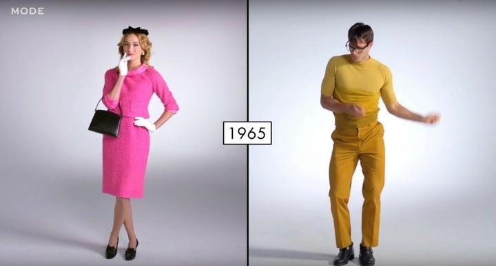 Как менялась мода в течении последних 100 лет (6)