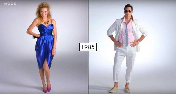 Как менялась мода в течении последних 100 лет (8)