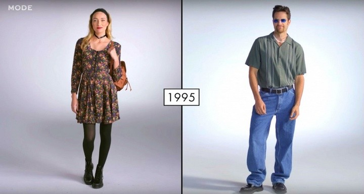 Как менялась мода в течении последних 100 лет (9)