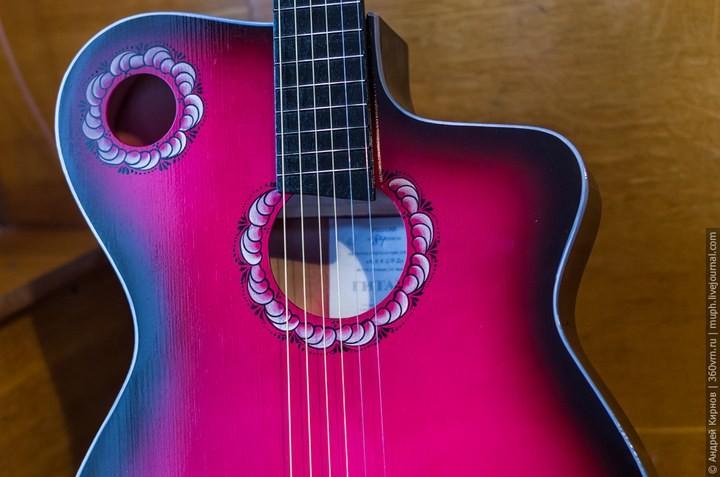 Как делают акустические гитары (4)
