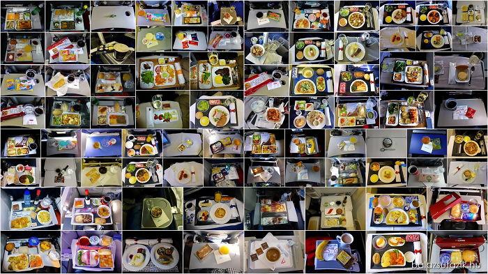 Чем кормят в самолётах крупных авиакомпаний (1)