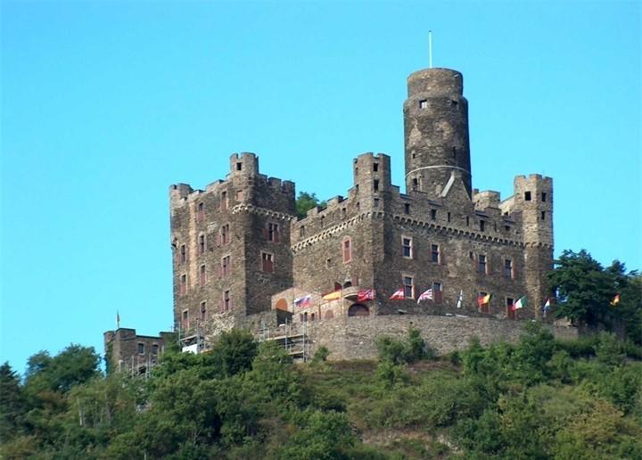 Самые знаменитые замки Германии (11)
