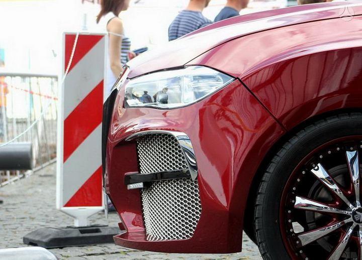 Как из хорошей машины сделать чудовище или тюнинг BMW X6 (3)