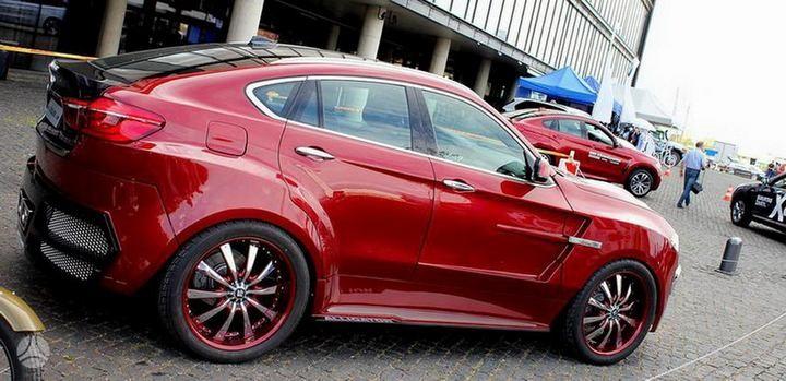 Как из хорошей машины сделать чудовище или тюнинг BMW X6 (5)