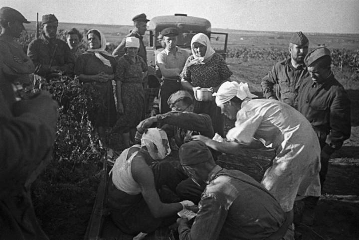 Немцы и русские в плену (1)