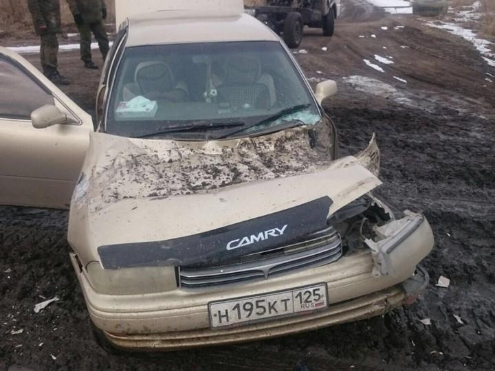 "Toyota Camry vs 2С4 ""Тюльпан"" (1)"