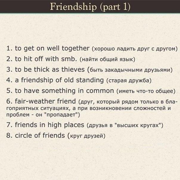 необходимые фразы для общения на английском (3)