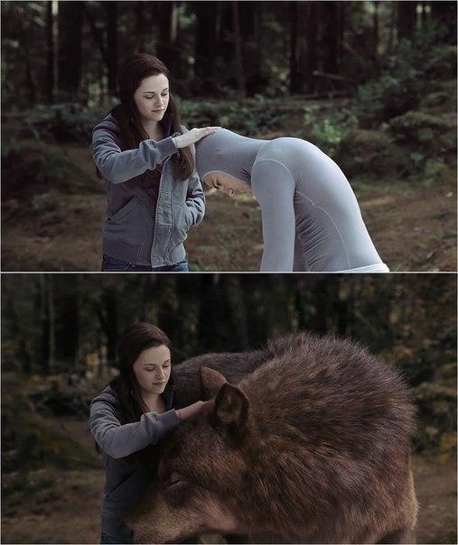 Сцены из фильмов до и после спецэффектов (1)