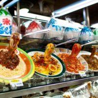 Искусственные блюда на витринах общепита в Японии… (14 фото + видео)