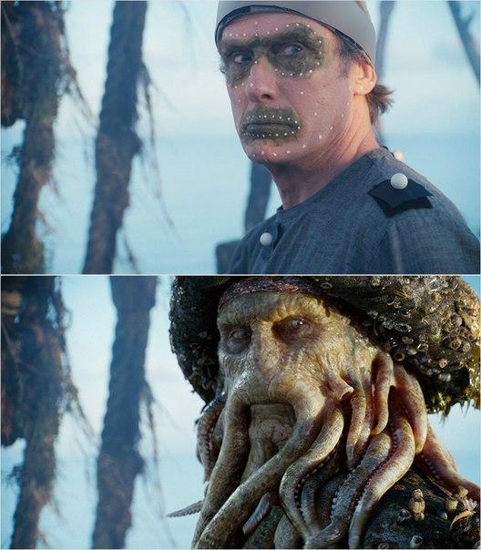 Сцены из фильмов до и после спецэффектов (4)