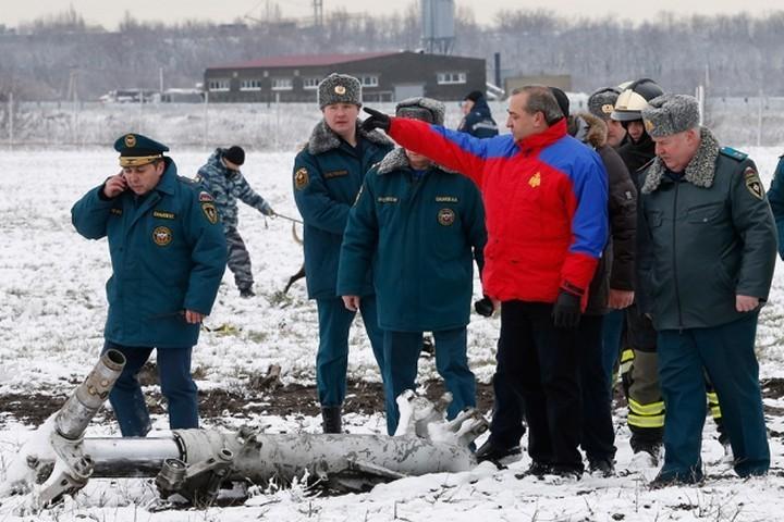 Фотографии с места крушения Boeing 737 в Ростове-на-Дону (5)