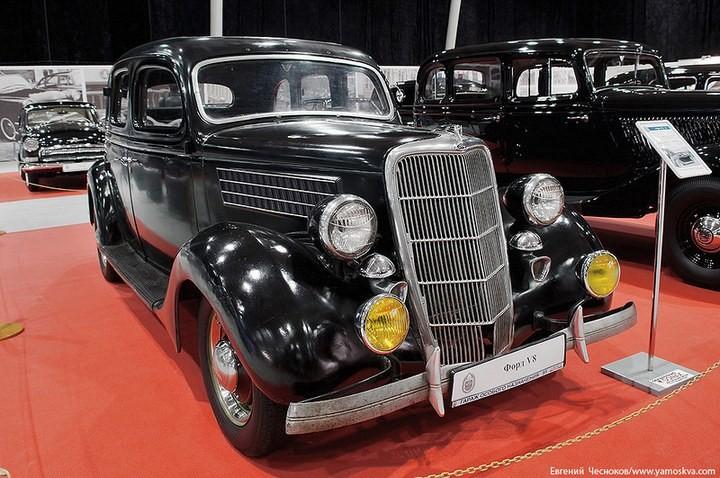 Выставка автомобилей Гаража особого назначения (6)