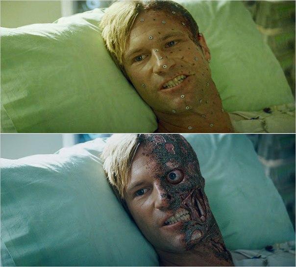 Сцены из фильмов до и после спецэффектов (9)