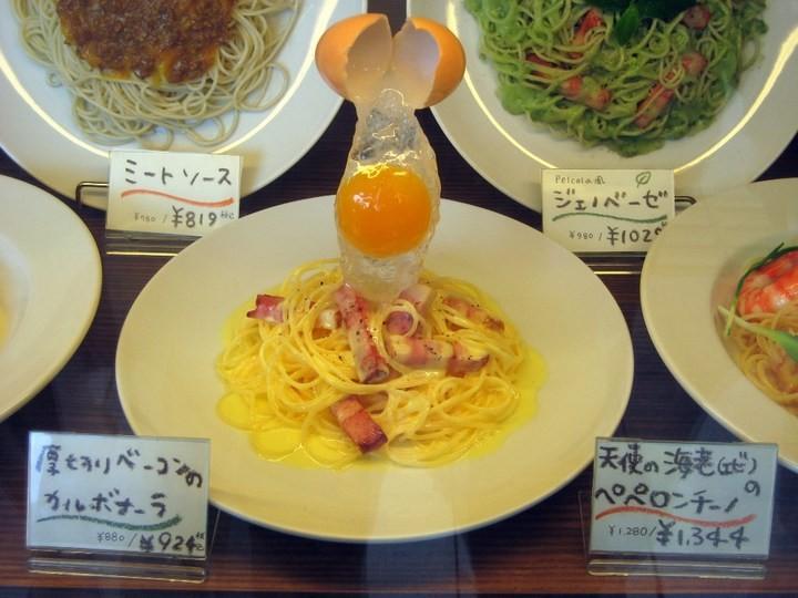 Искусственные блюда на витринах общепита в Японии (13)