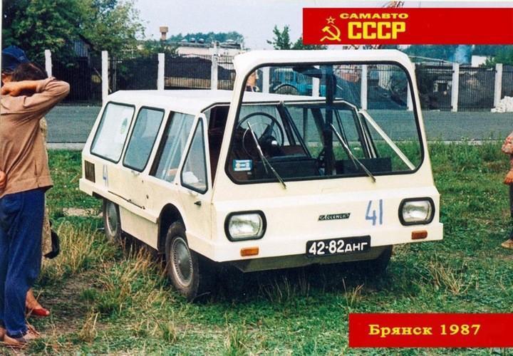 Всесоюзный слет самодельных автомобилей. Брянск, 1987 год (17)